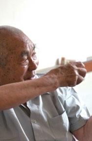 尹景洲:開始當兵的4年都和衣而睡
