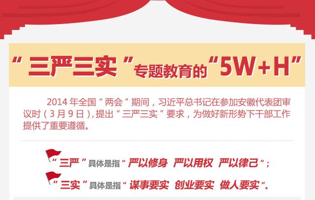 """""""三嚴三實""""專題教育的""""5W+H"""""""