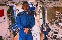 太空日�:中��人首次太空跑步