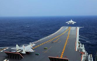 我航母編隊順利完成跨海區訓練試驗任務返航