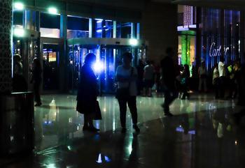 迪拜購物遇停電