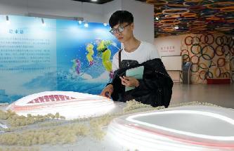 """2022年北京冬奧會國家速滑館設計方案""""冰絲帶""""亮相"""