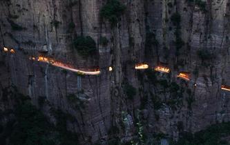 郭亮村:絕壁公路建成四十年實現山村巨變