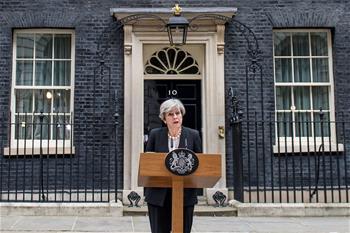 英國首相譴責曼徹斯特恐襲案