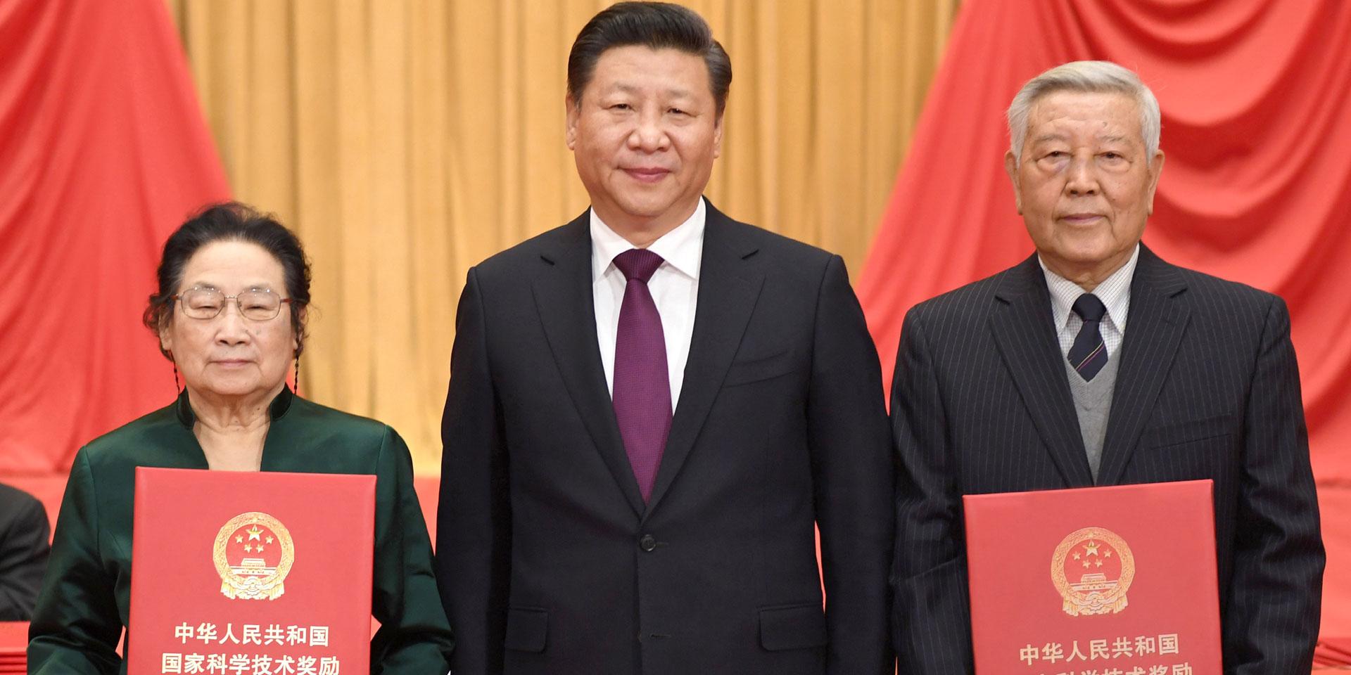 中國要強,中國人民生活要好,必須有強大科技。