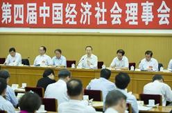 杜青林出席中國經濟社會理事會四屆四次會議