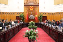 范長龍會見越南政府總理阮春福