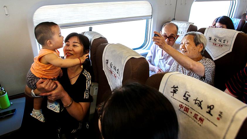 蘭新高鐵改變百姓出行方式