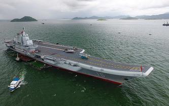 海軍航母編隊抵達香港