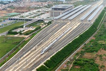 寶蘭高鐵開通運營