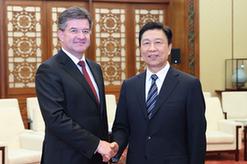 李源潮會見第72屆聯合國大會主席萊恰克