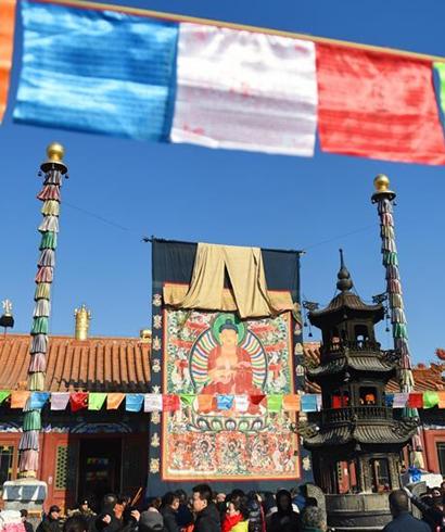 内蒙古大召寺举行新春法事活动