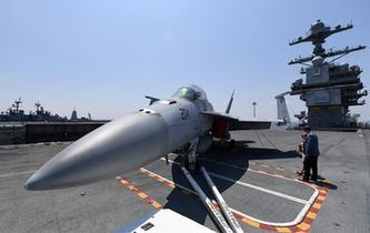 """美海軍首艘""""福特""""級航母正式服役"""
