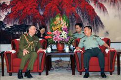 范長龍會見新西蘭國防軍司令