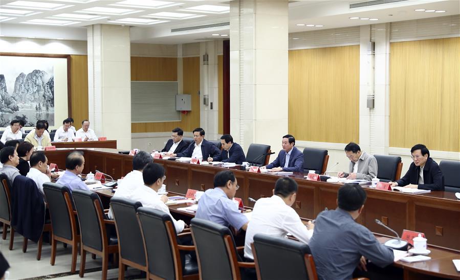 劉奇葆出席中央媒體駐外機構外宣工作座談會