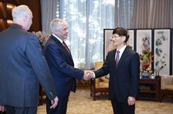 孟建柱會見俄羅斯內務部長科洛科利採夫和俄聯邦調查委員會主席巴斯特雷金