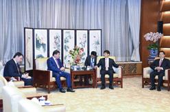 孟建柱會見塔吉克斯坦內務部長拉希姆佐達