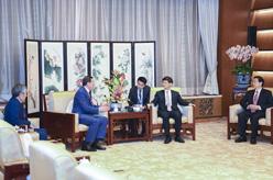 孟建柱會見哈薩克斯坦內務部長卡西莫夫