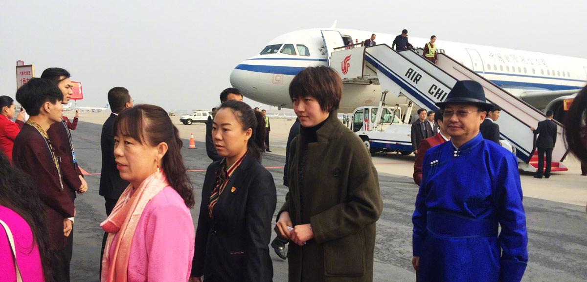 首個京外十九大代表團抵京
