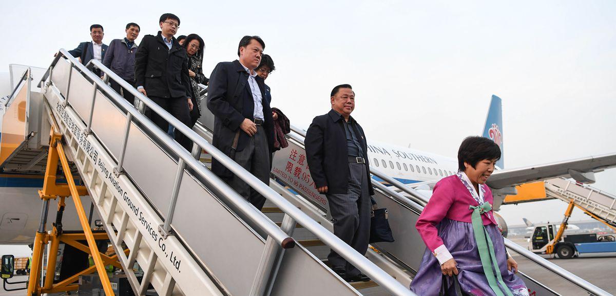 出席十九大的吉林代表團抵京