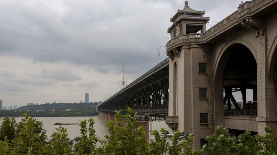 武漢長江大橋建成通車60周年