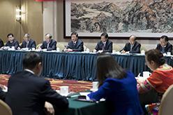 劉雲山參加十九大雲南代表團討論