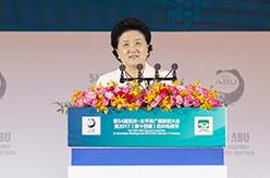 劉延東出席第54屆亞洲太平洋廣播聯盟大會開幕式