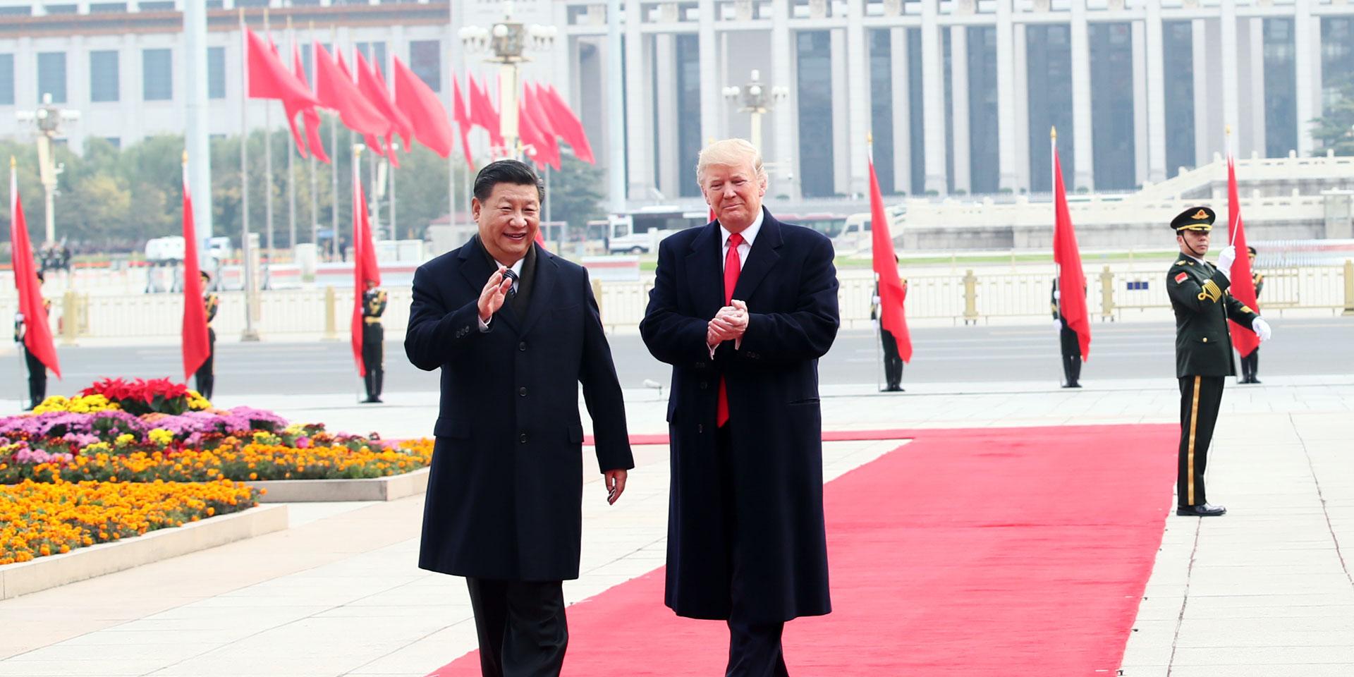 中美兩國的發展相輔相成、並行不悖。