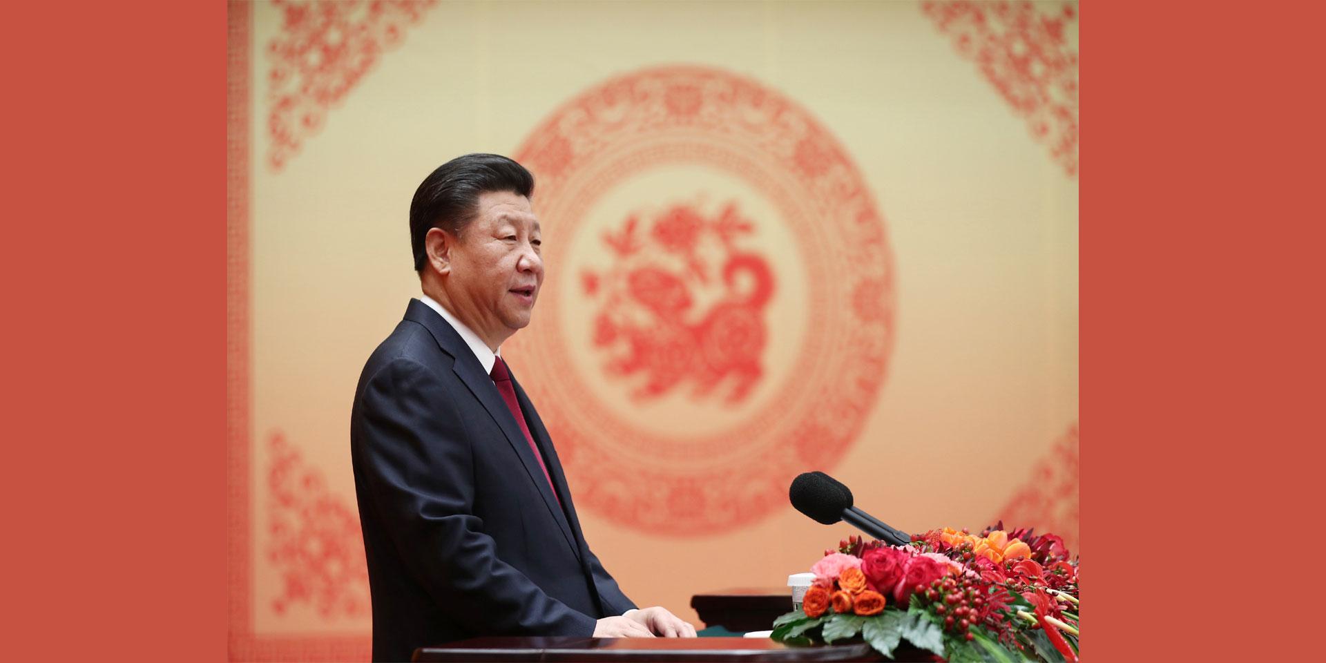 春节是新的开始,预示着新的希望。