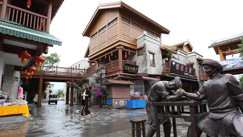 汶川地震前的小地震_纪念汶川地震十周年_新华网