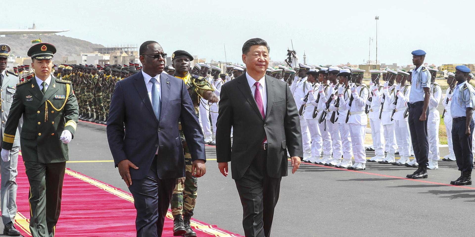 中非长期友好,命运休戚与共。