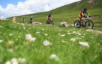 自行車——甘南藏地傳奇自行車賽開賽