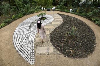 英國劍橋大學建中式花園紀念徐志摩