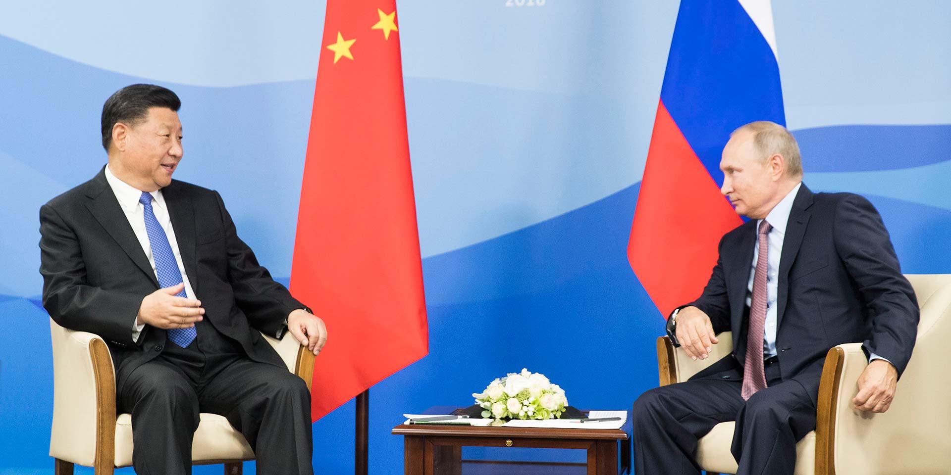 推动中俄全面战略协作伙伴关系再攀高峰,更好惠及两国人民。