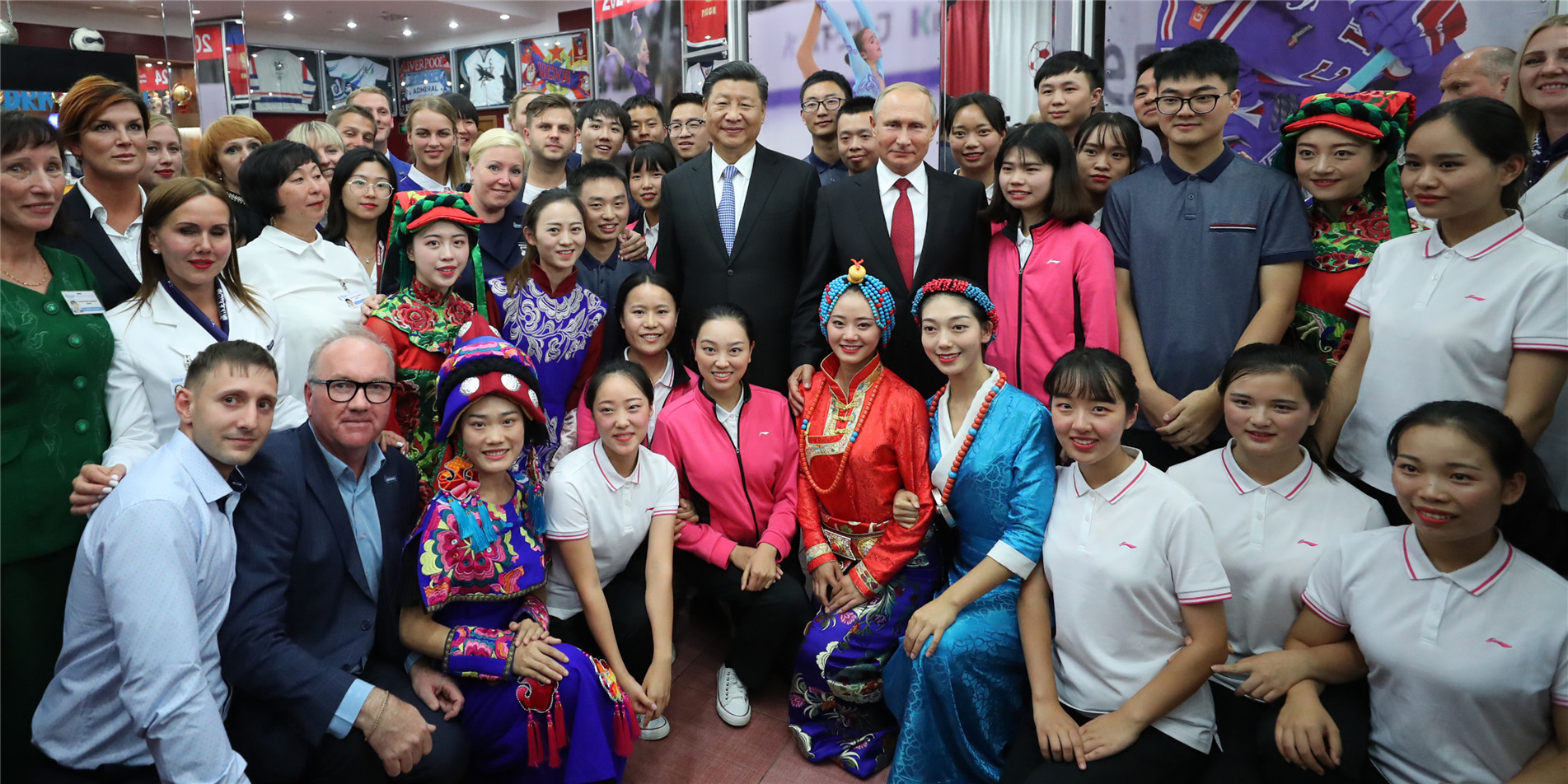 中俄關係發展史,也是兩國青少年密切交往的歷史。
