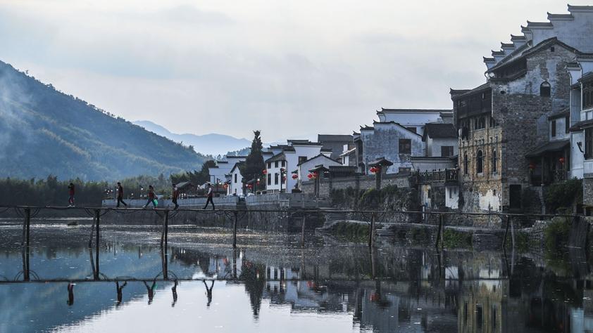 改革開放四十年浙江美麗鄉村巨變