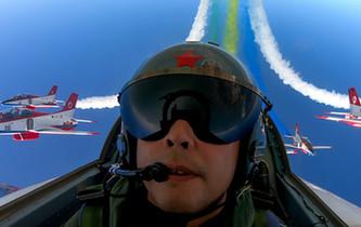 飛行員視角下的航展 為軍迷專屬定制