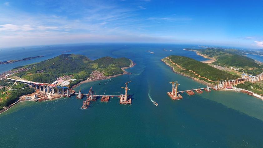中國中鐵:在跨越式發展中成長為世界五百強