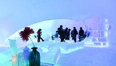 滿目晶瑩 夢幻冰屋