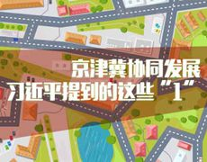 """京津冀協同發展,習近平提到的這些""""1"""""""