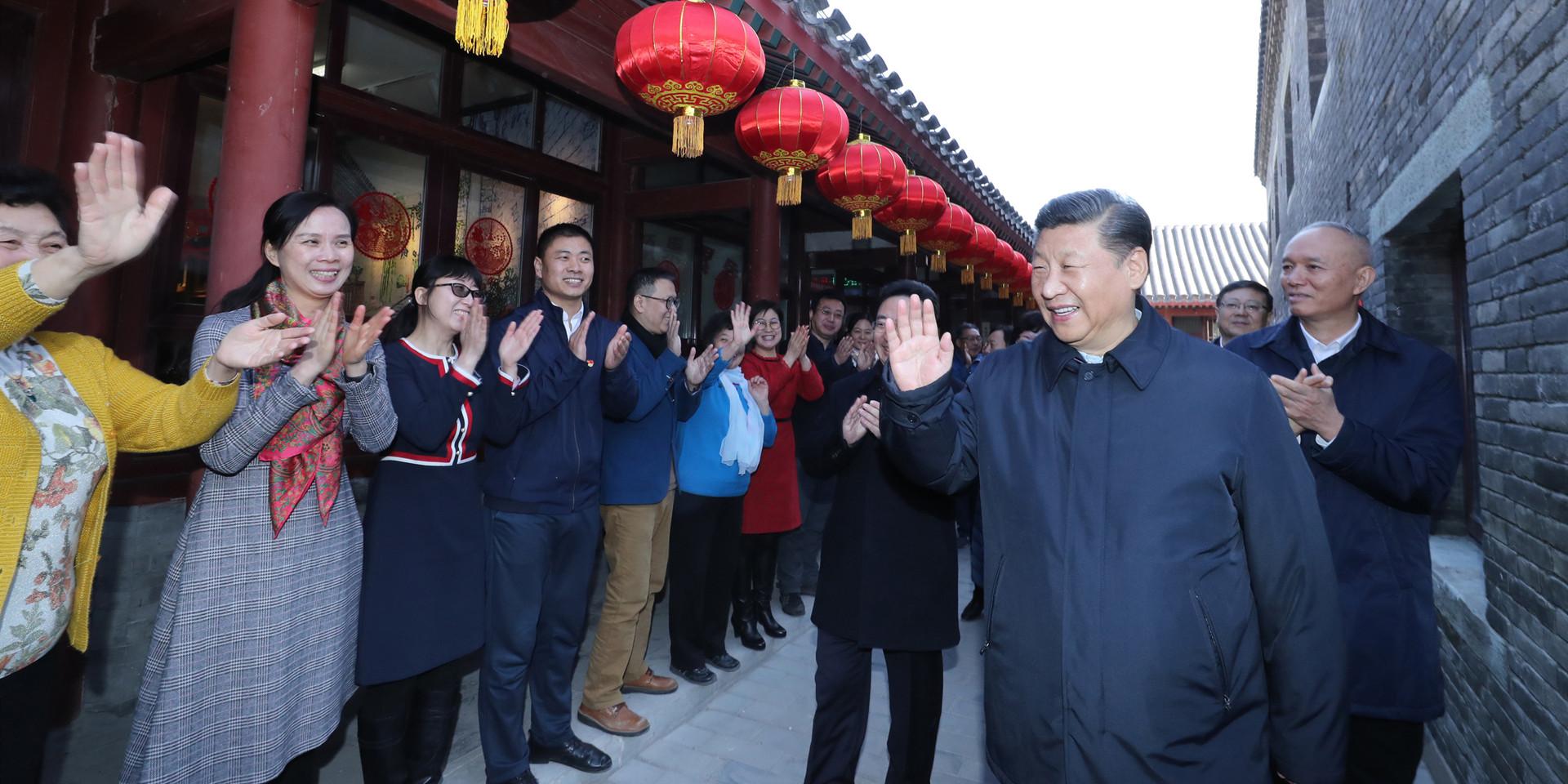中国共产党的追求就是让老百姓生活越来越好。
