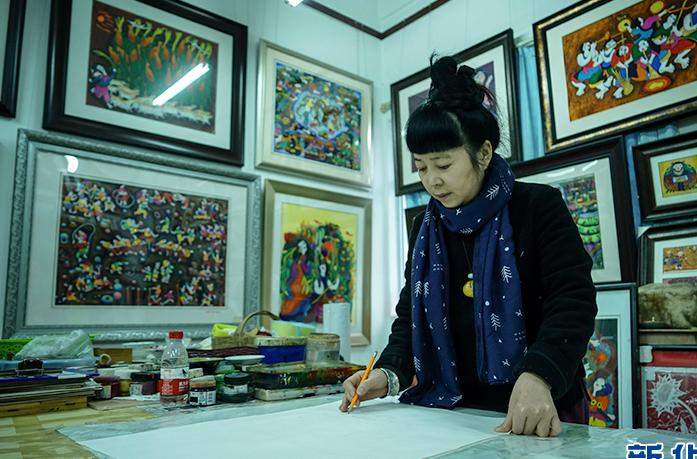 重慶綦江農民版畫續寫非遺文化的魅力