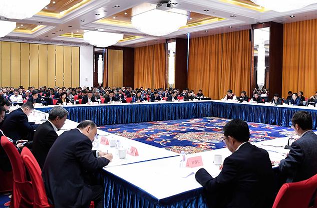 全国政协全体会议期间首次举行界别协商会议
