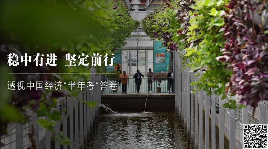 """穩中有進 堅定前行——透視中國經濟""""半年考""""答卷"""