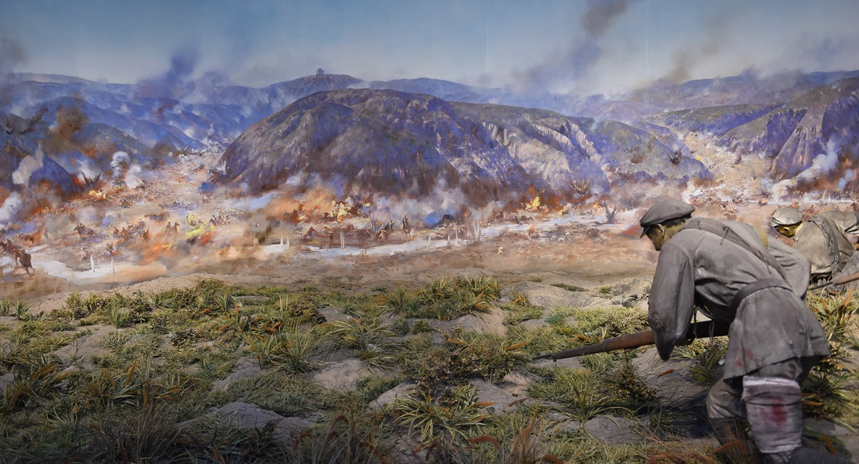 """""""切尾巴""""戰役:中央紅軍結束長徵的最後一仗"""