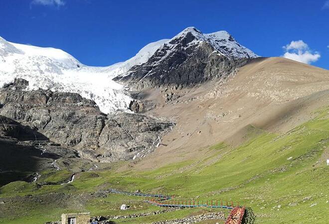 【新時代·幸福美麗新邊疆】組圖:壯觀美麗的卡若拉冰川