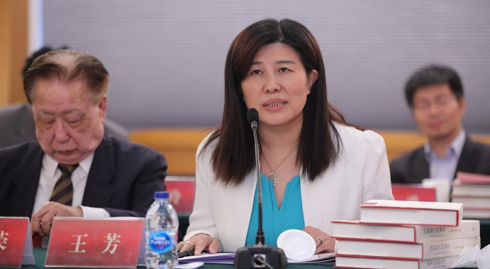 外语教学与研究出版社党总支书记王芳