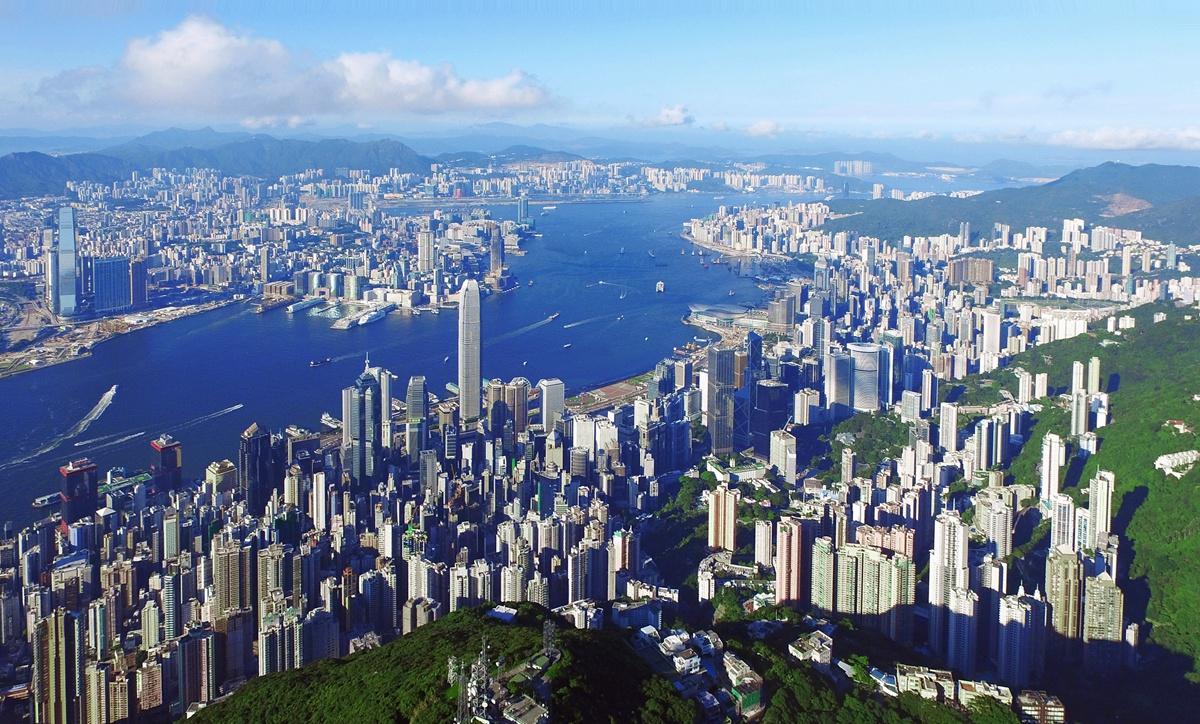 生態中國·幻彩之咏遍香江