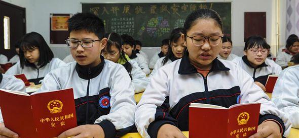 河北大城:弘扬宪法精神 增强法制观念