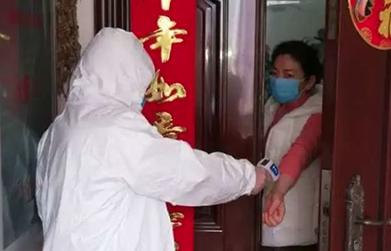 武漢:黨員進入小區一線抗疫